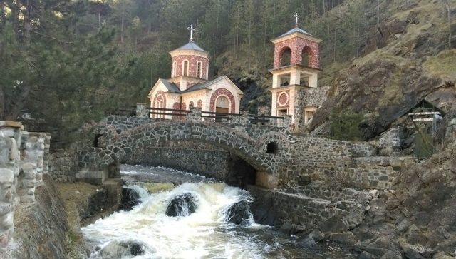 crkva svetog jovana krtitelja na mokroj gori