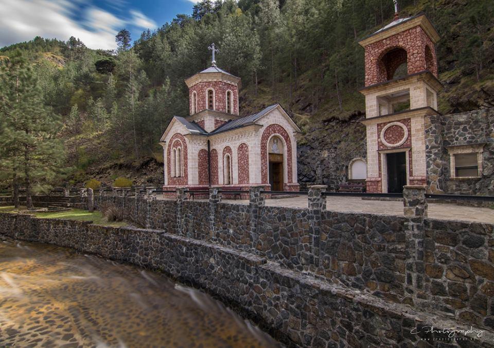 crkva svetog jovana krtitelja u mokroj gori
