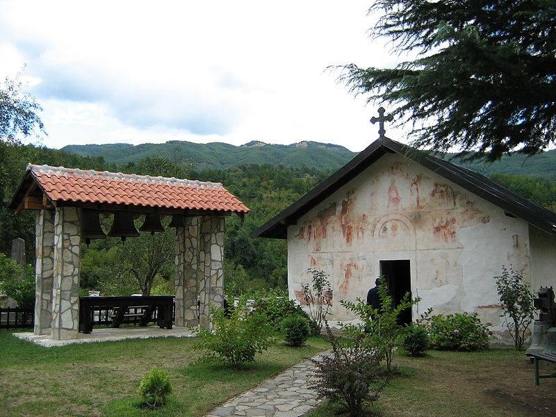 gavran hrani proroka iliju - manastir moraca