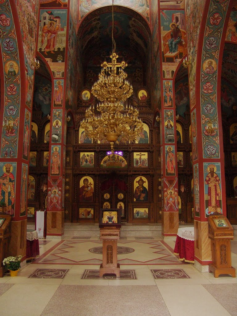 ikonopis manastira nova gracanica