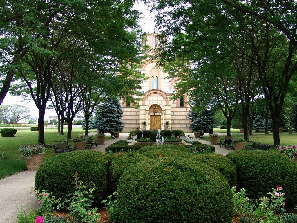 manastir nova gracanica u americi