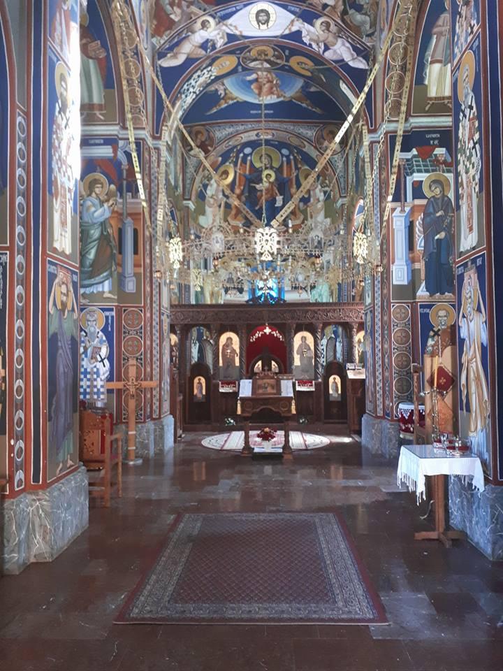 unustrasnjost manastira Kaona