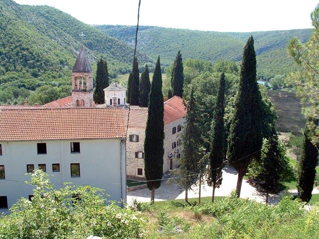 Manastri Krka u Dalmaciji