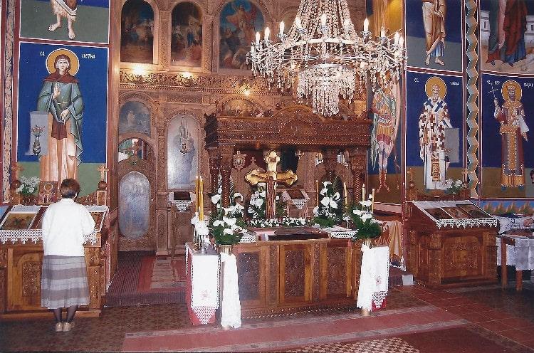 Freske - Crkva Svetog Đorđa