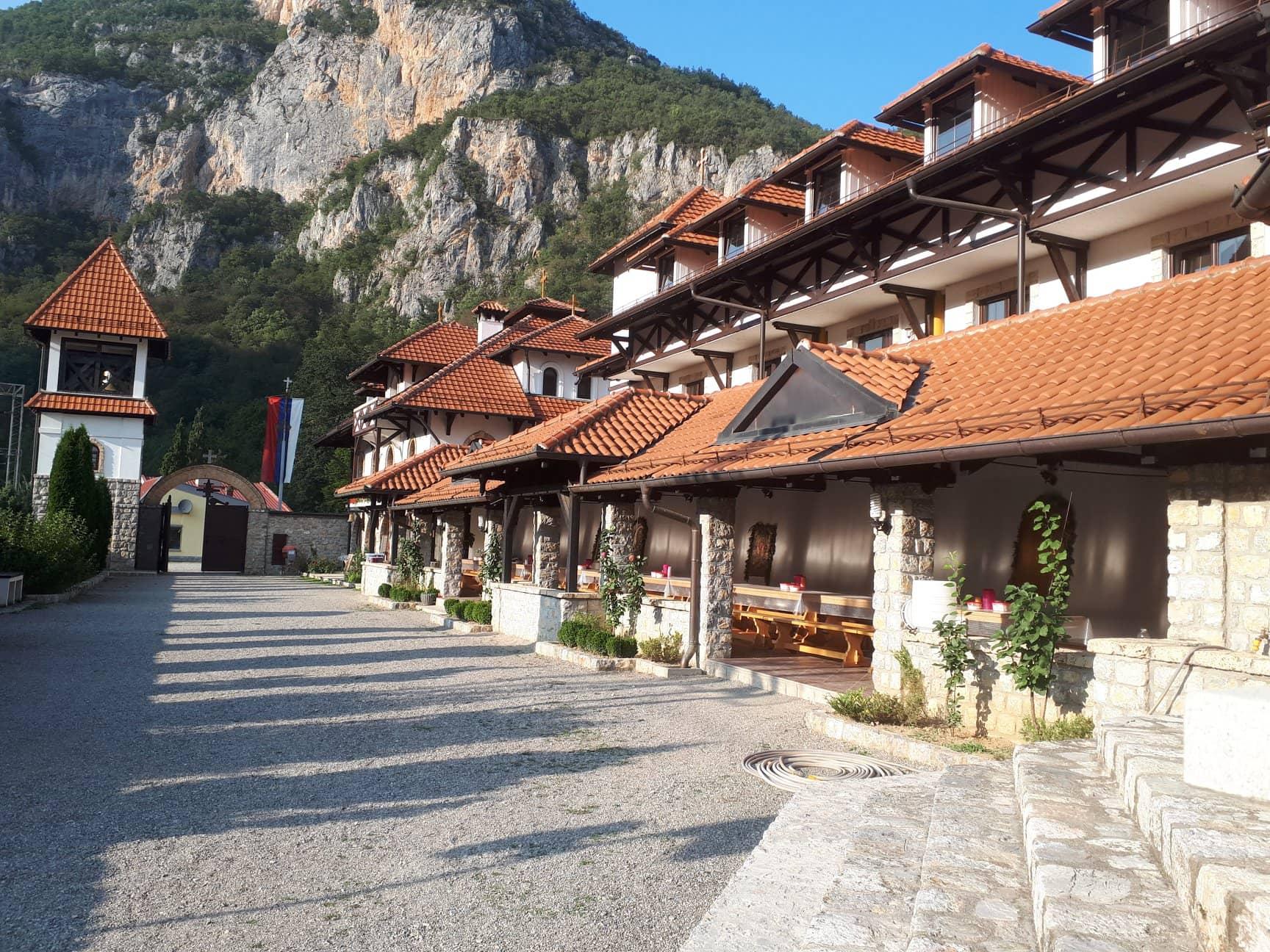 Konaci u manastiru Kumanica