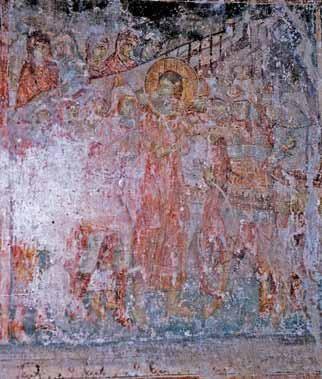 Matejče_ostecene freske