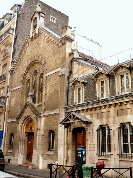 crkva svetog save u parizu