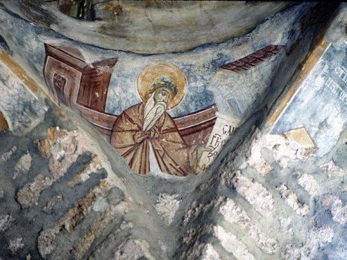 freska u manastiru davidovica