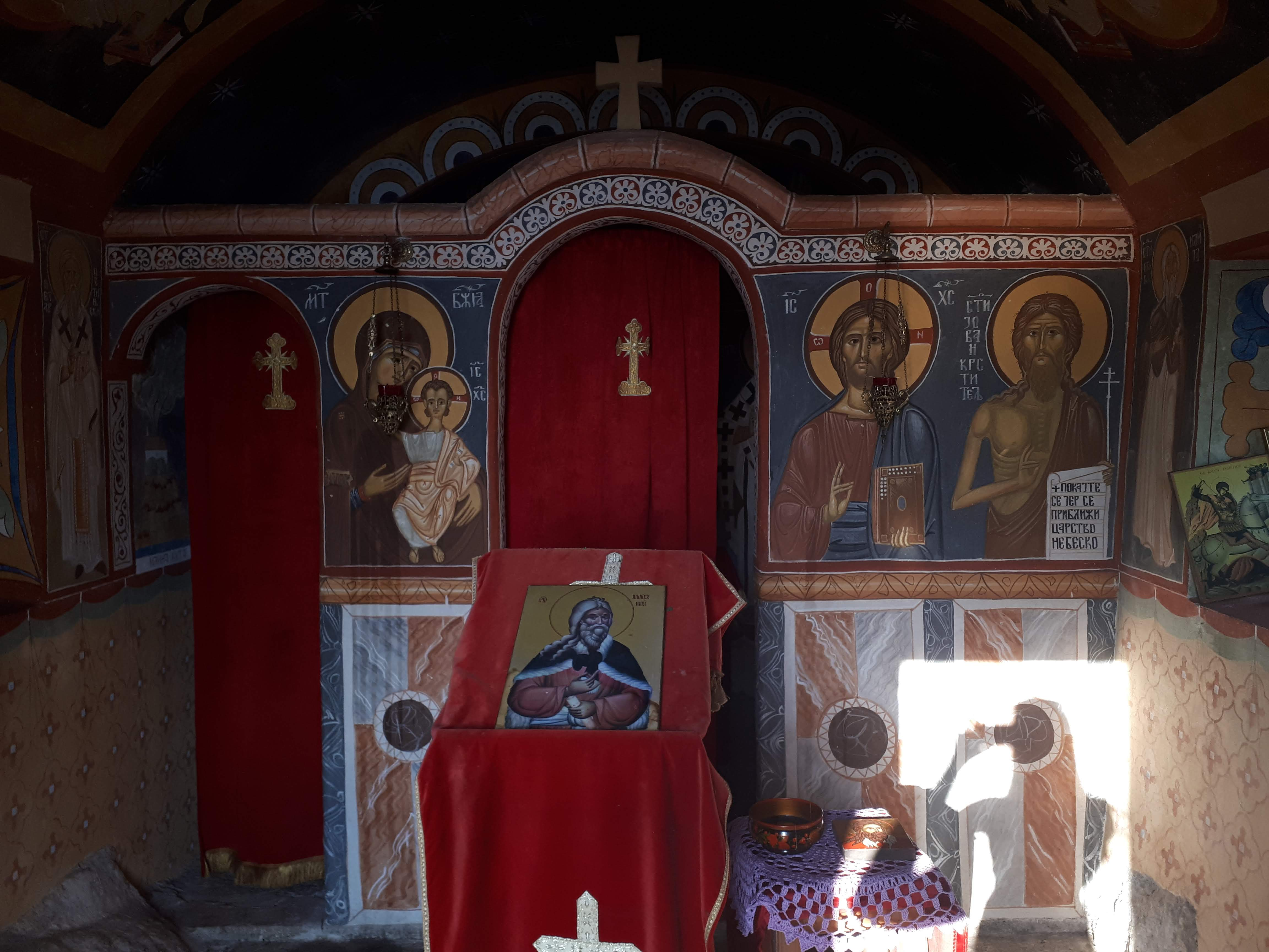 unutrasnjost crkve
