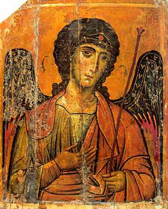 Arhangel Mihailo najstariji prikaz na freskama