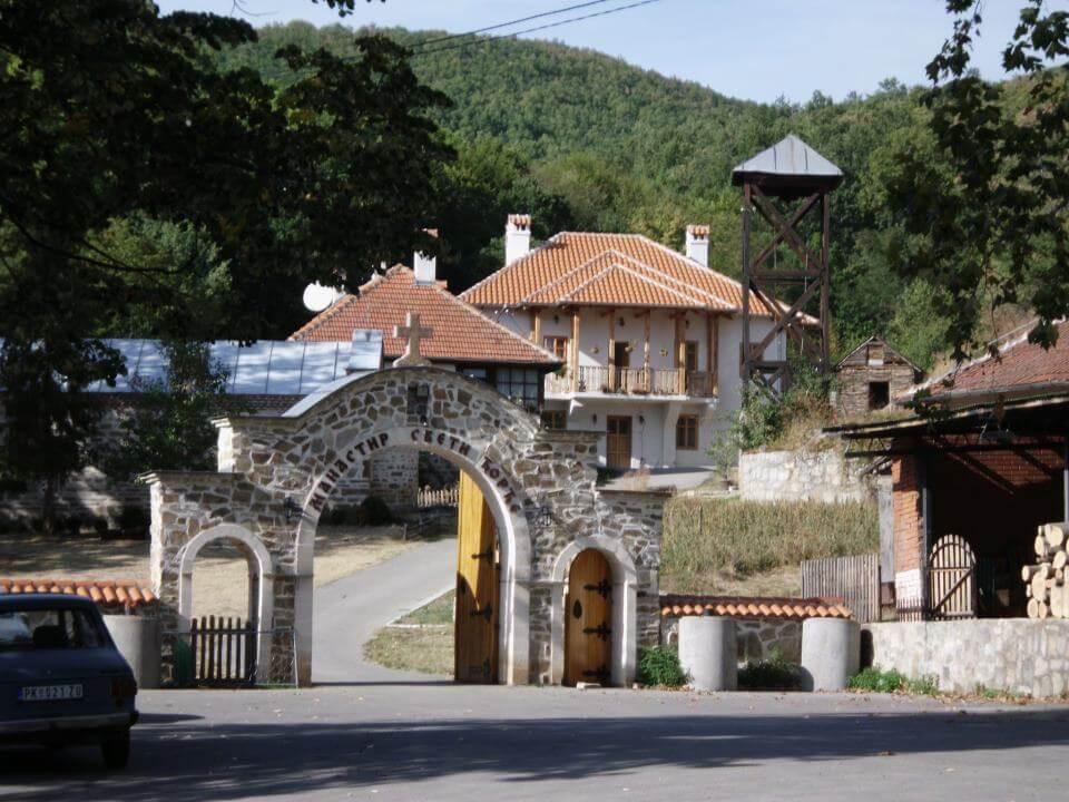 manastir sveti djordje ajdanovac