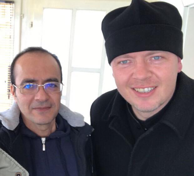 Muhamed i prota Miloš / Foto: B. Mitrić