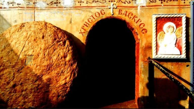 replika hristovog groba manastir stubal
