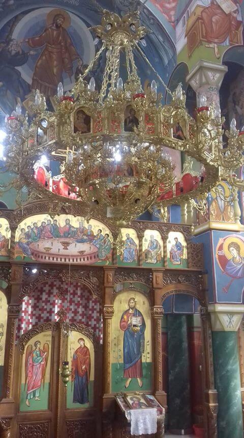 crkva malo gradiste unutrasnjost
