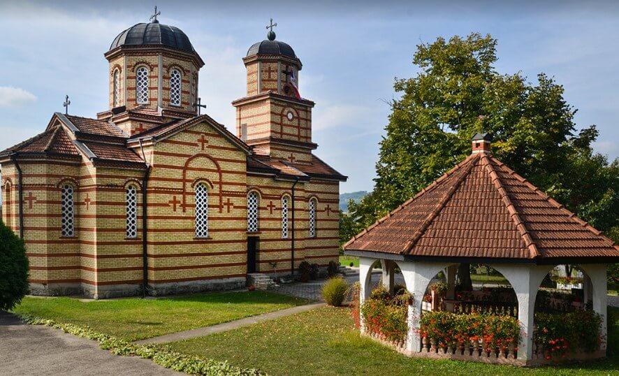 crkva svete mucenice Nedelje - selo Kaonik