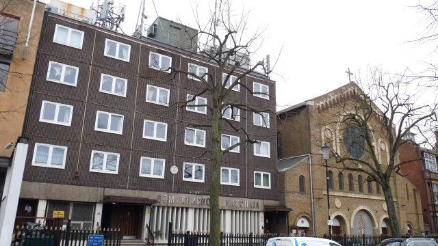 crkva svetog save u Londonu