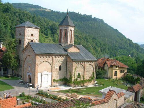manastir raca kod bajine baste