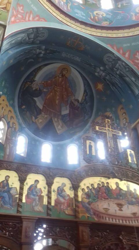 unutrasnjost crkve u malom gradistu