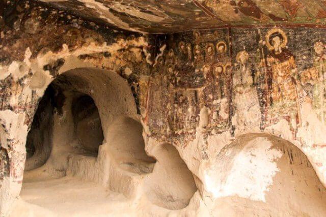 Podzemna crkva u Kapadokiji Turska