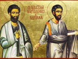 sveti apostoli vartolomej i varnava