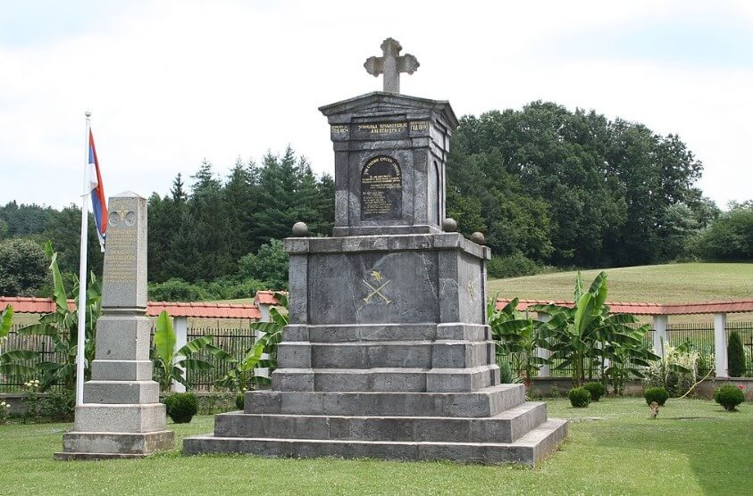 spomenik junacima boja na cokesini