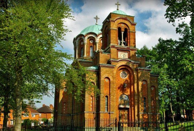 crkva kneza Lazara u Birmingemu