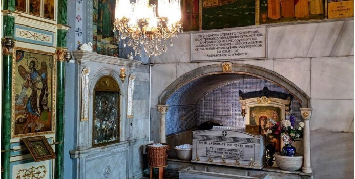 unutrasnost vlahernske crkve