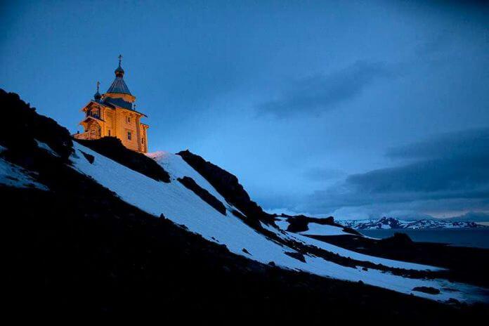 crkva na antarktiku