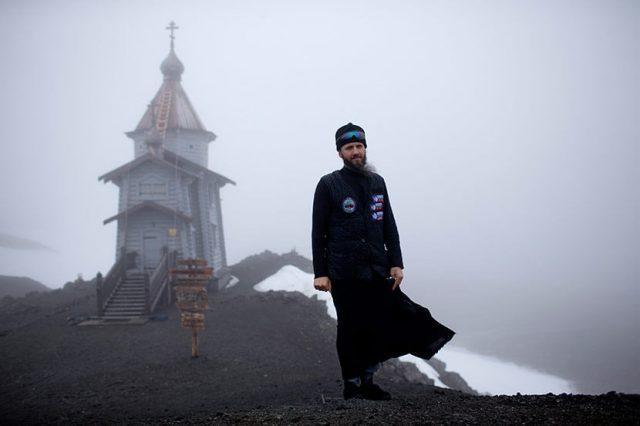 ruska crkva na antarktiku