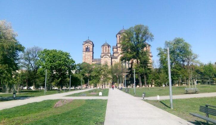 crkva svetog marka na tasmajdanu