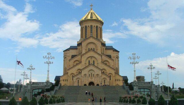 Crkva u Gruziji - Sameba