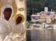 Ikona posečene Bogorodice i manastir Vatoped